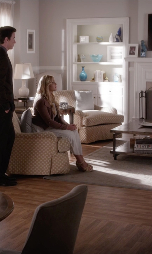 Sasha Pieterse with Joie Lena Espadrille Wedges in Pretty Little Liars