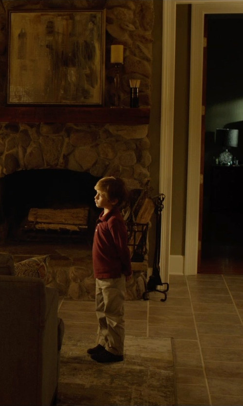 Jacob Tremblay with Mauro Grifoni Kids Stretch Casual Pants in Before I Wake