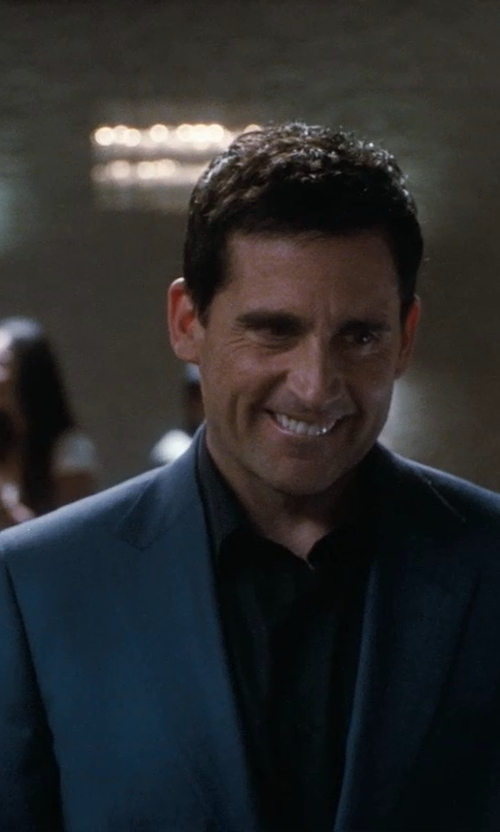 Steve Carell with John Varvatos U.S.A. Slim Fit Dress Shirt in Crazy, Stupid, Love.