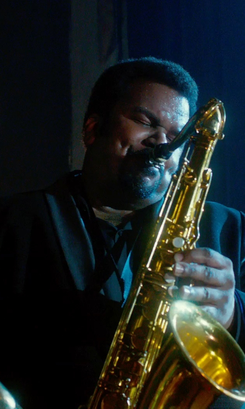 Craig Robinson with Selmer STS280 La Voix II Tenor Saxophone Outfit in Get On Up