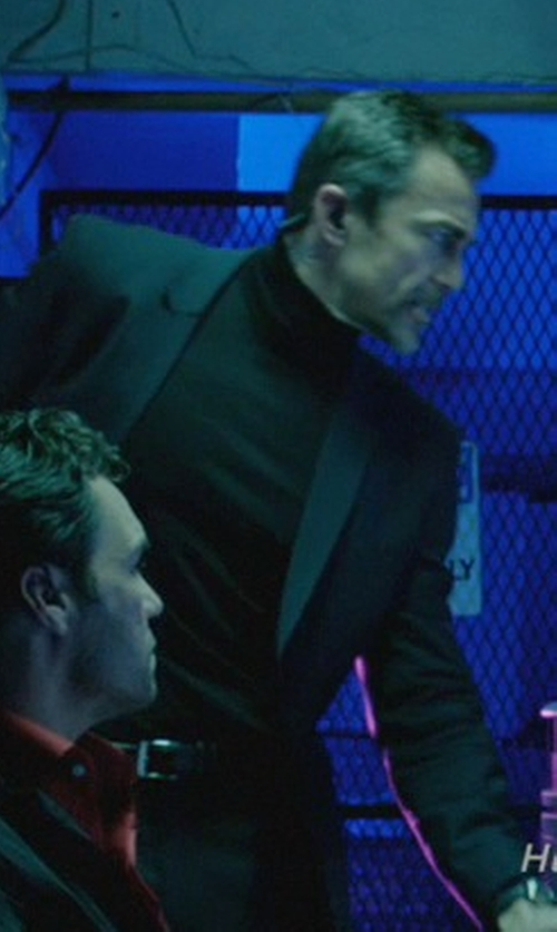 Daniel Bernhardt with Attachment Turtleneck Sweater in John Wick