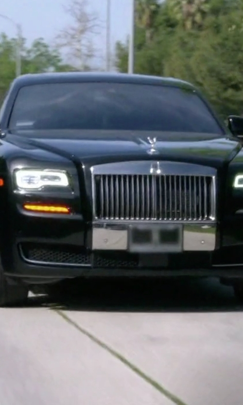 Kris Jenner with Rolls Royce Ghost Black Badge Sedan in Keeping Up With The Kardashians