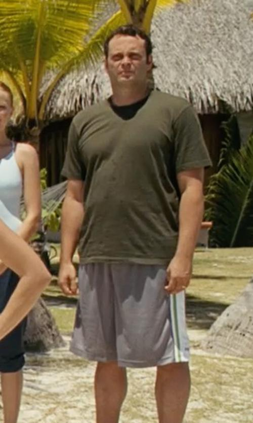 Vince Vaughn with Nike Lebron Colorblocked Performance Shorts in Couple's Retreat