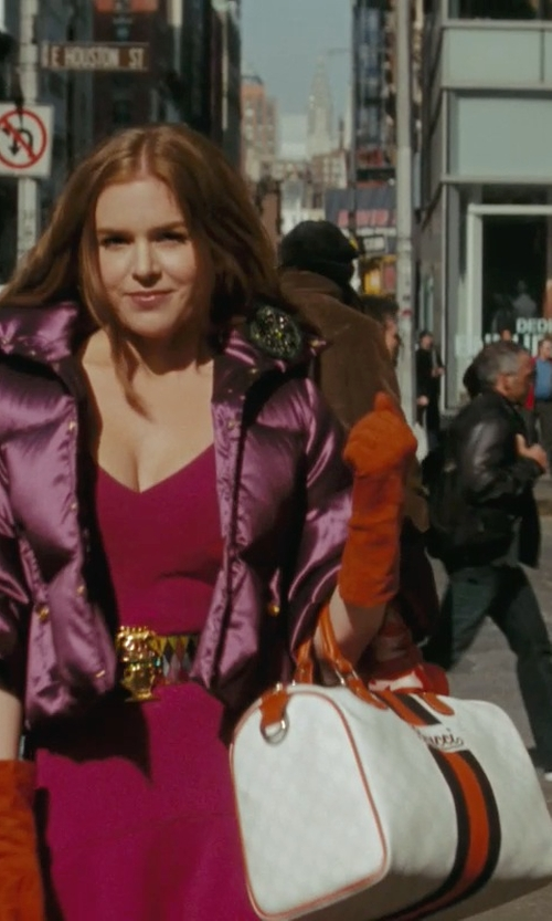 Isla Fisher with Gucci Joy Boston Bag in Confessions of a Shopaholic