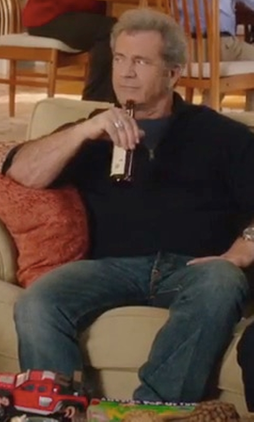 Mel Gibson with Citizens Of Humanity Premium Vintage Holden Jeans in Daddy's Home 2