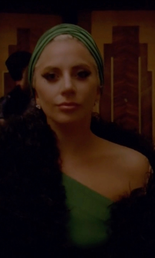 Lady Gaga with Gorski Mink Fur Stole in American Horror Story