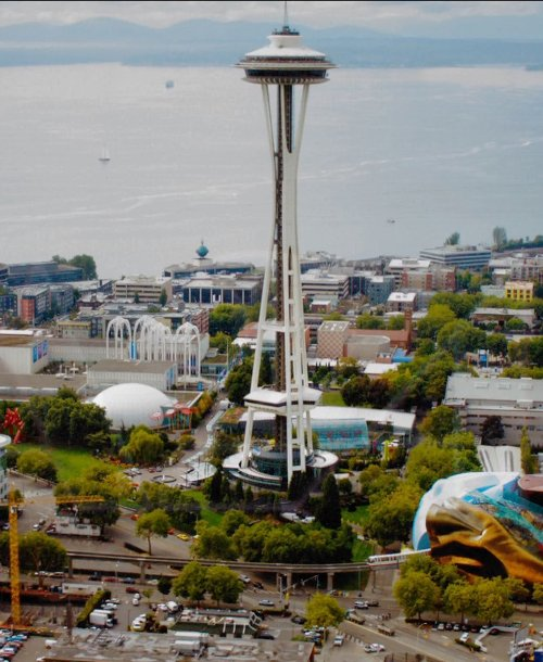 Space Needle Seattle, Washington, USA in Laggies