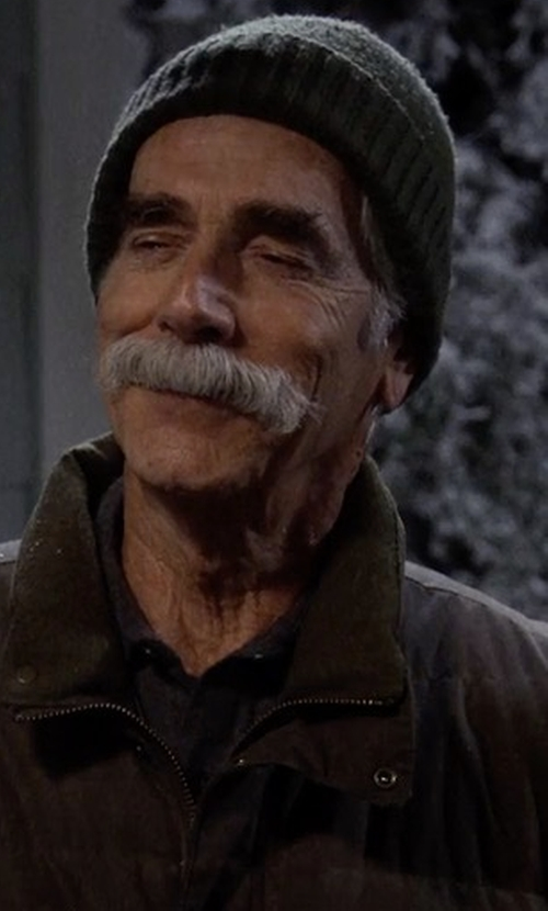 Sam Elliott with Volcom Sweep Lined Beanie in The Ranch