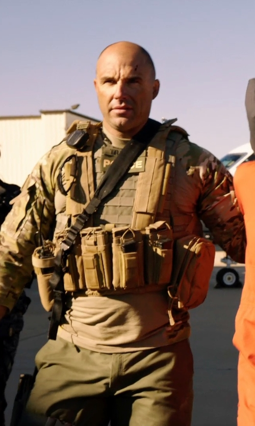 Kevin Vance with Blackhawk Lightweight Commando Recon Chest Harness in Sabotage