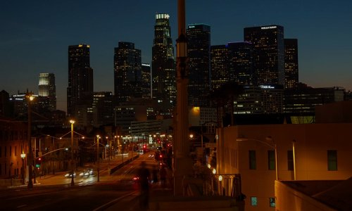 Unknown Actor with Citigroup Center Los Angeles, California in Horrible Bosses 2