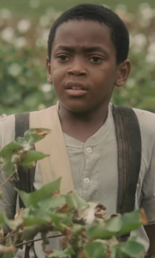 Michael Rainey Jr. with Hold'Me Solid Color Adjustable Elastic Kids Suspenders in Lee Daniels' The Butler