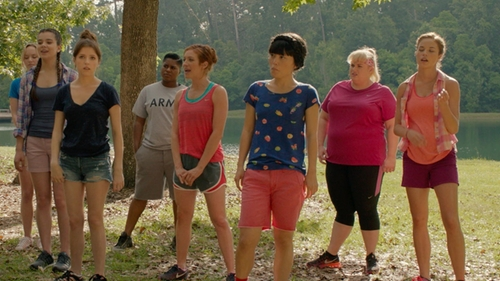 Alexis Knapp with Delia's Tank Top in Pitch Perfect 2