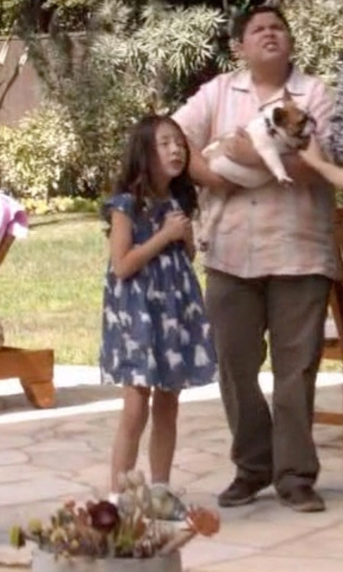 Aubrey Anderson-Emmons with Converse Girls' Chuck Taylor Double Tongue Sneaker in Modern Family