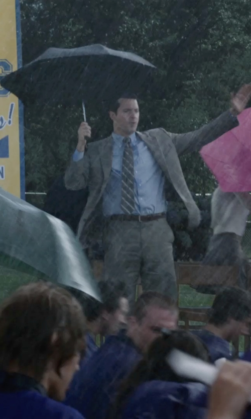 Richard Armitage with Davek Lightweight Mini Umbrella in Into the Storm