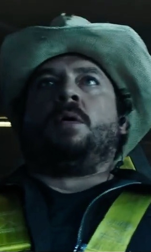 Danny McBride with Block Headwear Cotton Boonie Hat in Alien: Covenant