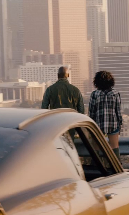 Tyrese Gibson with Diesel Men's J-Chika Jacket in Furious 7