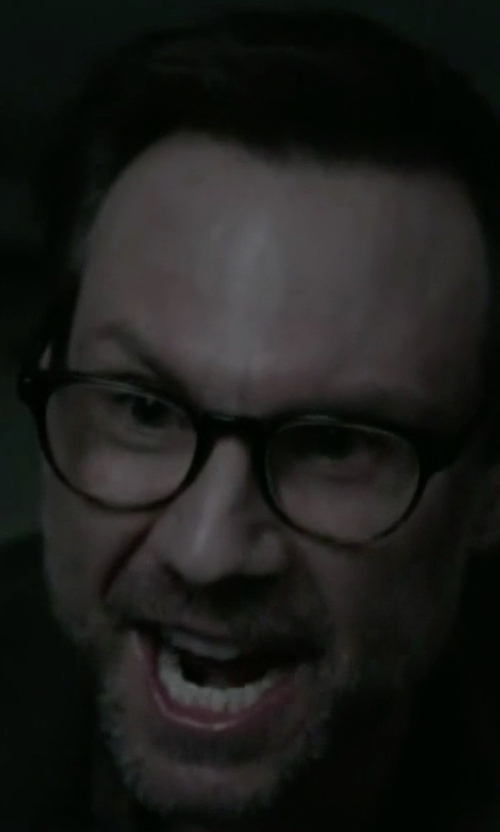 Christian Slater with Paul Smith Kendon Glasses in Mr. Robot