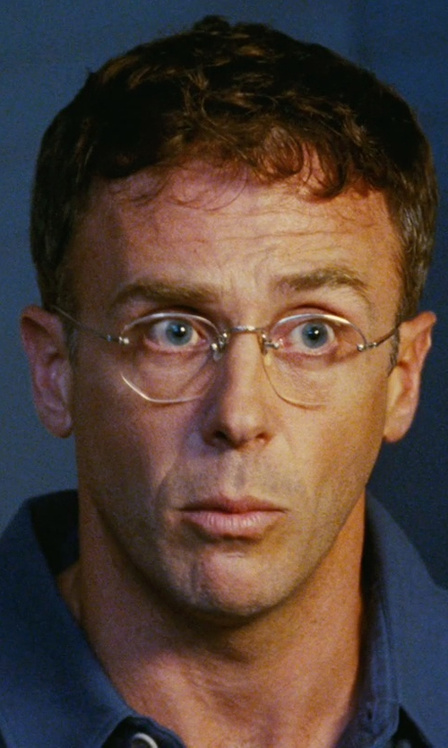 David Eigenberg with Giorgio Armani Round Eyeglasses in Sex and the City