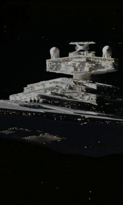 No Actor with Star Wars Diecast Vehicle Star Destroyer in Rogue One: A Star Wars Story
