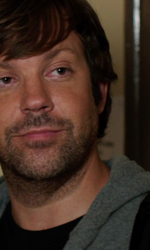 Jason Sudeikis with Splendid Double Face Hoodie in We're the Millers