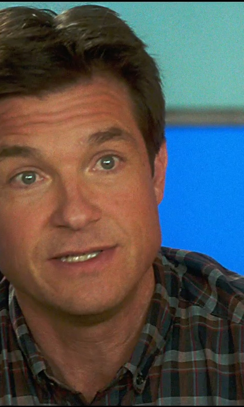 Jason Bateman with Aspesi Plaid Flannel Shirt in Horrible Bosses 2