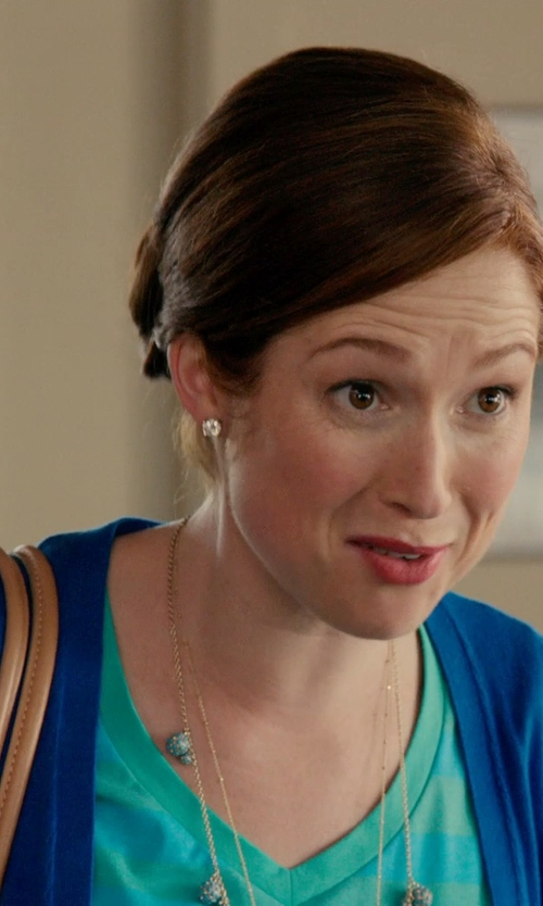 Ellie Kemper with SONOMA Life + Style Solid Tee Women's in Laggies