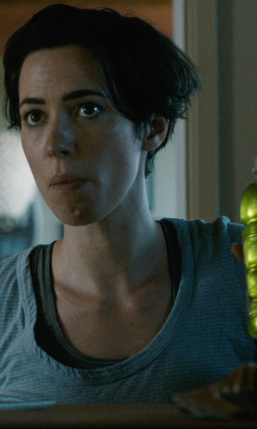 Rebecca Hall with +People Striped T-Shirt in The Gift