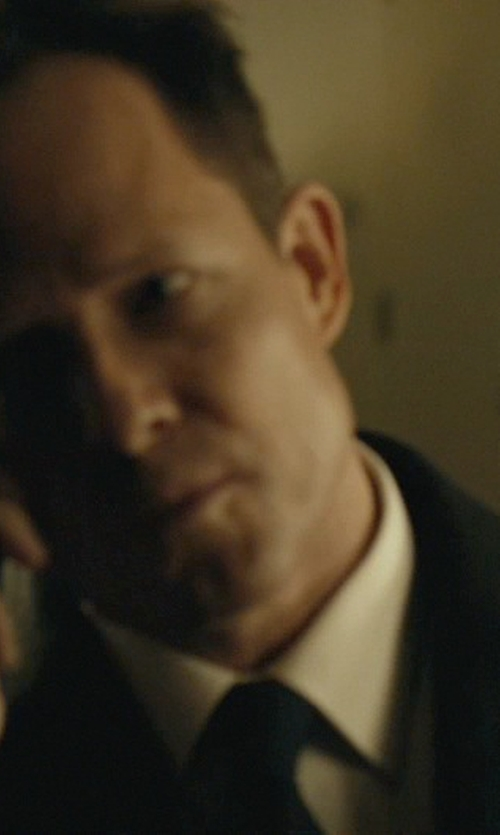 Dean Winters with Thomas Pink Fleming Plain Dress Shirt in John Wick