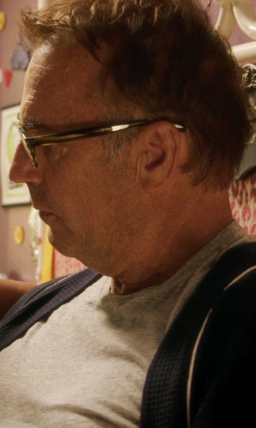 Kevin Costner with VonZipper Hot Mess Reader Eyeglasses in Black or White
