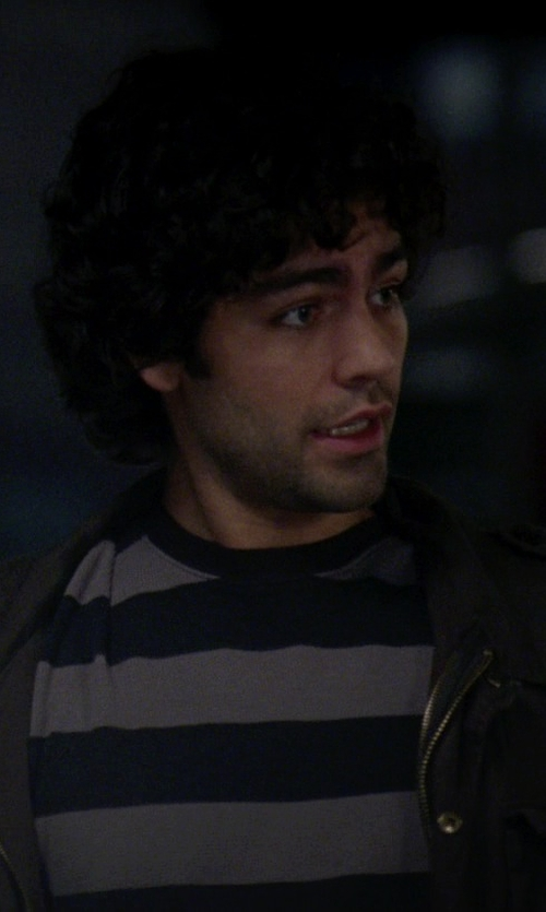 Adrian Grenier with Ted Baker London 'Jarbin' Quilted Jacket in The Devil Wears Prada