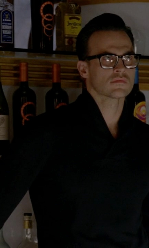 Cheyenne Jackson with Lorenz Bach Pullover Sweater in American Horror Story