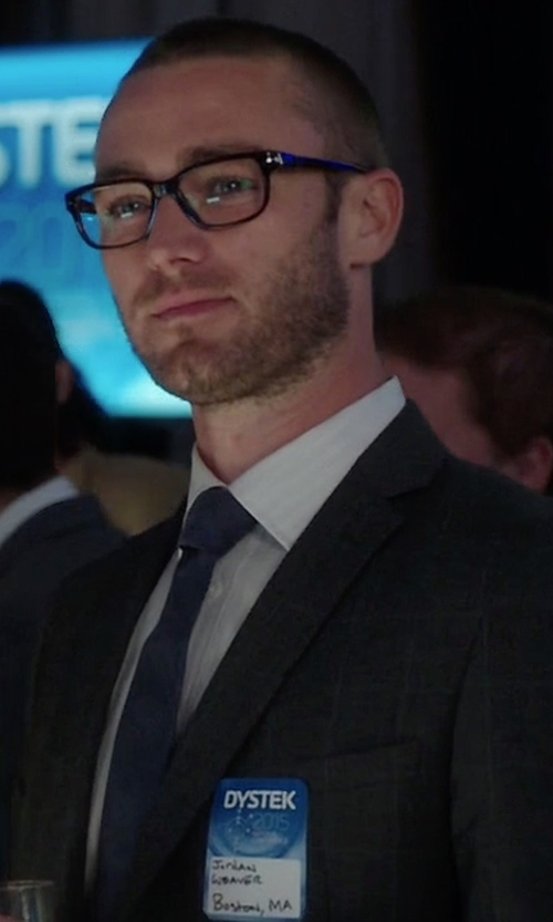 Jake McLaughlin with Saks Fifth Avenue Collection Solid Silk Tie in Quantico