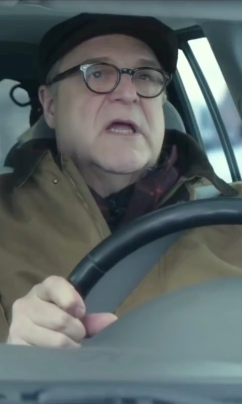 John Goodman with Belfry  Hats Lambskin Leather Ivy Cap in Love the Coopers
