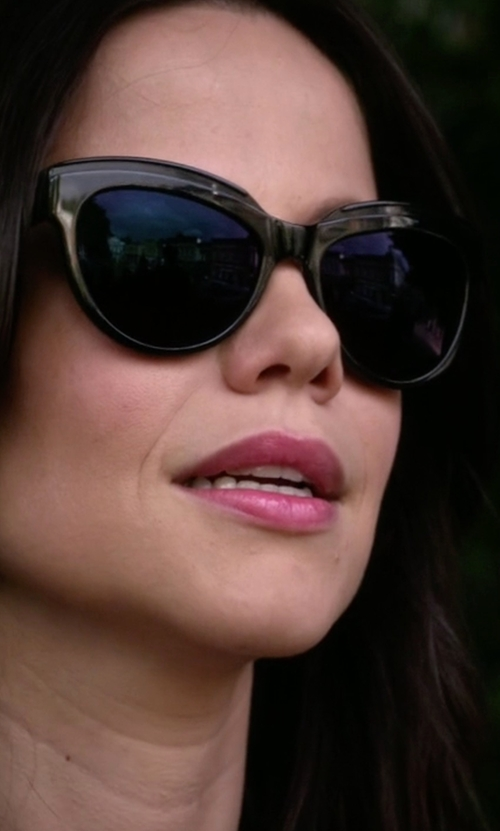 Tammin Sursok with Gucci  Lattice Cat-Eye Sunglasses in Pretty Little Liars