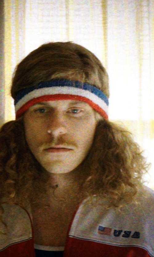 Blake Anderson with Nike USA N98 World Cup Authentic Track Jacket in Neighbors