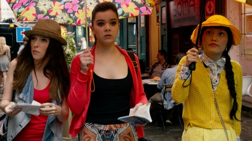 Hailee Steinfeld with Old Navy Perfect Rib-Knit Tank in Pitch Perfect 2