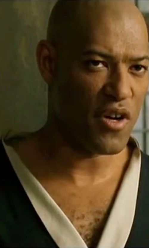 Laurence Fishburne with Storm Kimonos 'Trooper' Gi Uniform in The Matrix