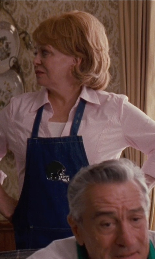 Jacki Weaver with Old Navy Chest Patch Pocket Oxford Shirts in Silver Linings Playbook