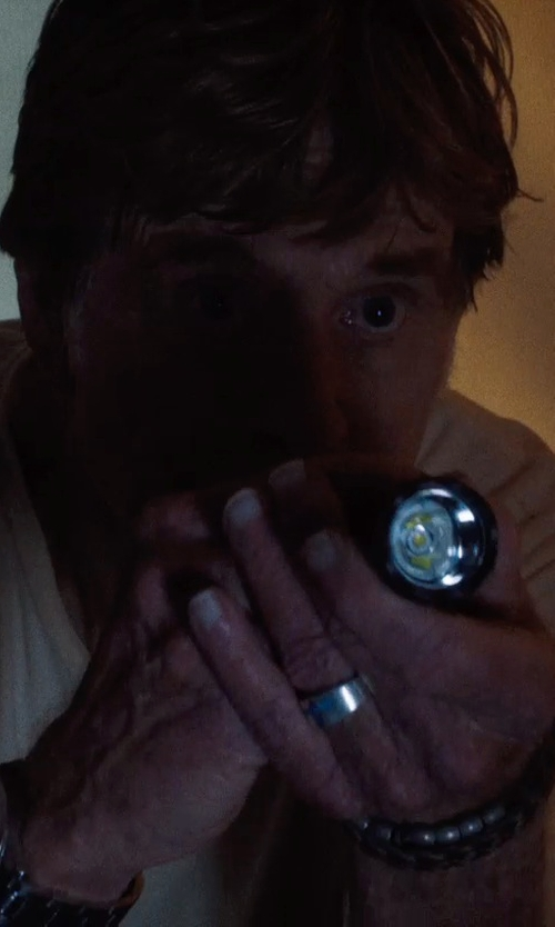 Robert Redford with Fenix LED Flashlight in A Walk in the Woods