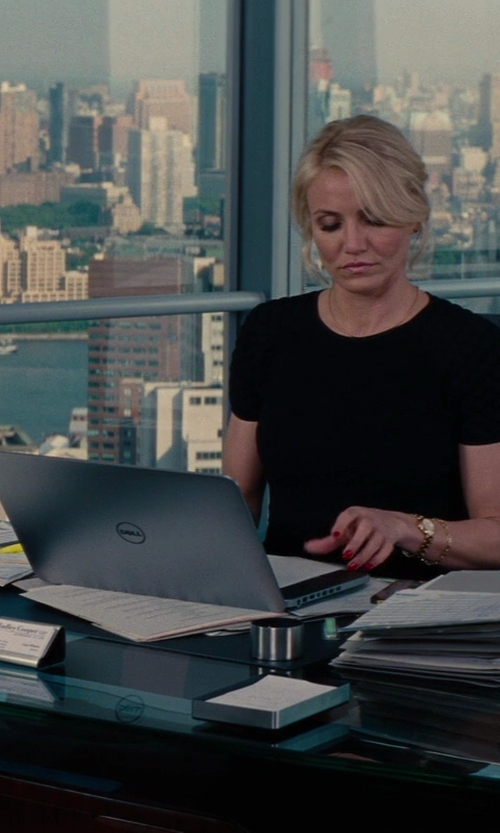 Cameron Diaz with Dell Inspiron 17 7000 Series Laptop in The Other Woman