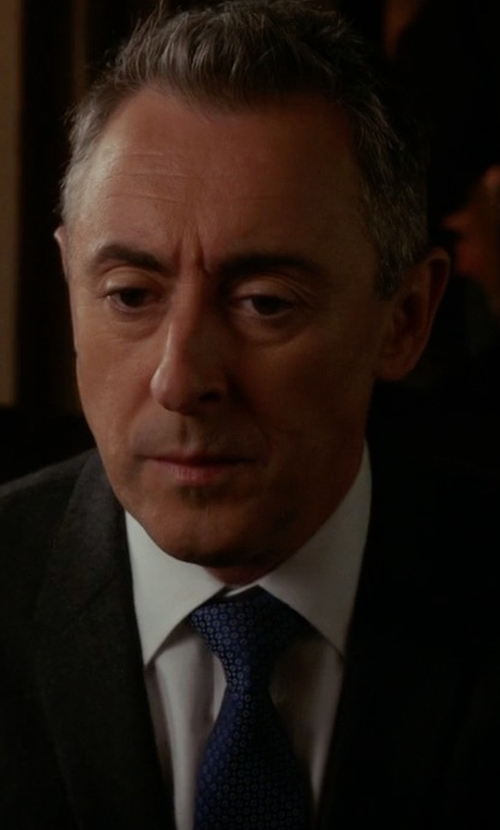 Alan Cumming with Roda Patterned Tie in The Good Wife