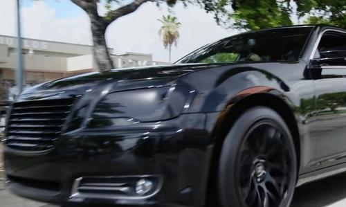 Ice Cube with Chrysler 300 Sedan in Ride Along 2