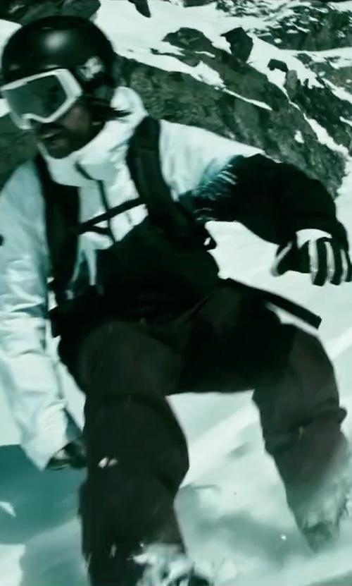 Clemens Schick with Goldwin Kigokochi Ski Jacket in Point Break