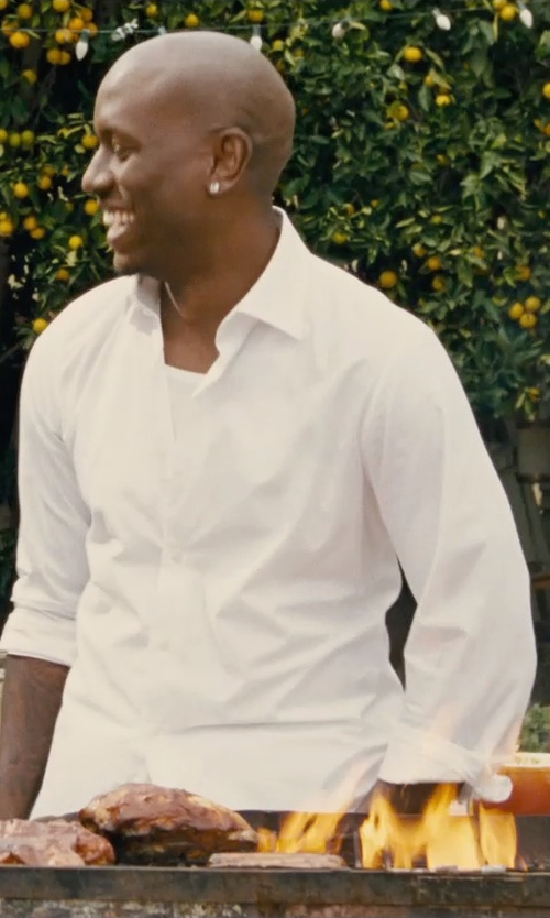 Tyrese Gibson with Dolce & Gabbana Classic Tank Top in Furious 7