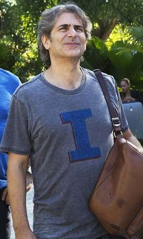 Michael Imperioli with Eddie Bauer Men's Graphic T-Shirt in Mad Dogs