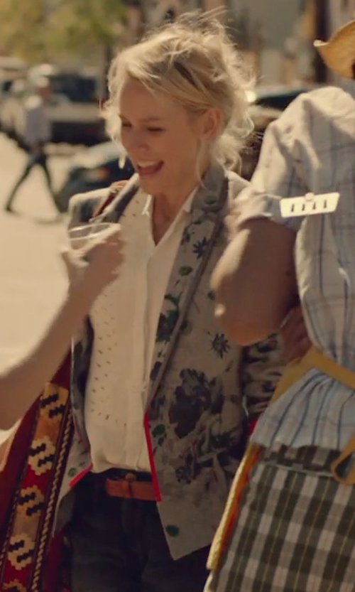 Naomi Watts with Avelon Swanky Shirt in While We're Young