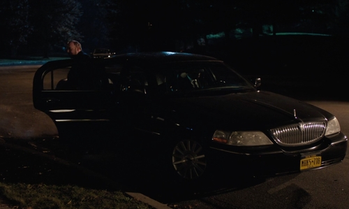 Paul Giamatti with Lincoln 2011 Town Car Sedan in Billions