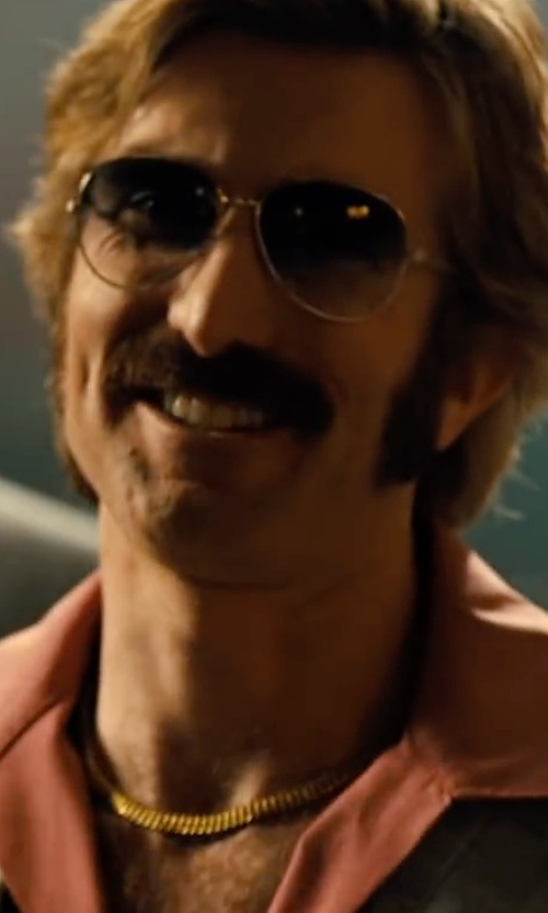 Sharlto Copley with Ray-Ban Aviator Sunglasses in Free Fire