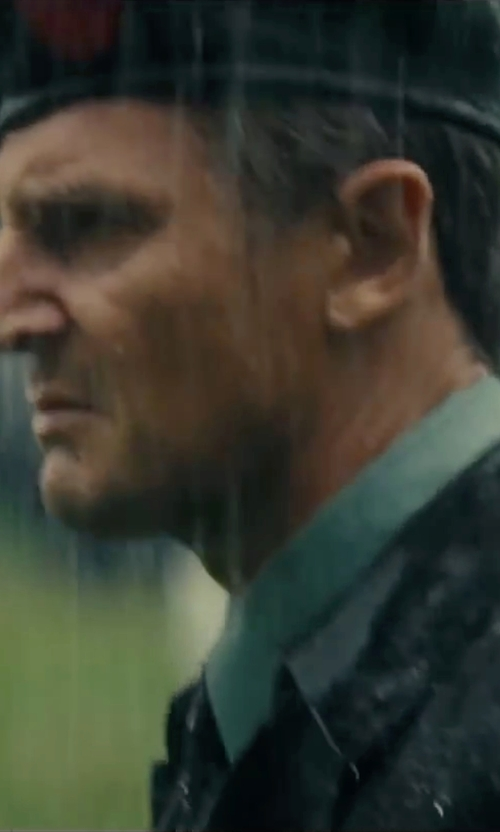 Liam Neeson with Apt. 9 Stretch Spread-Collar Dress Shirt in The A-Team