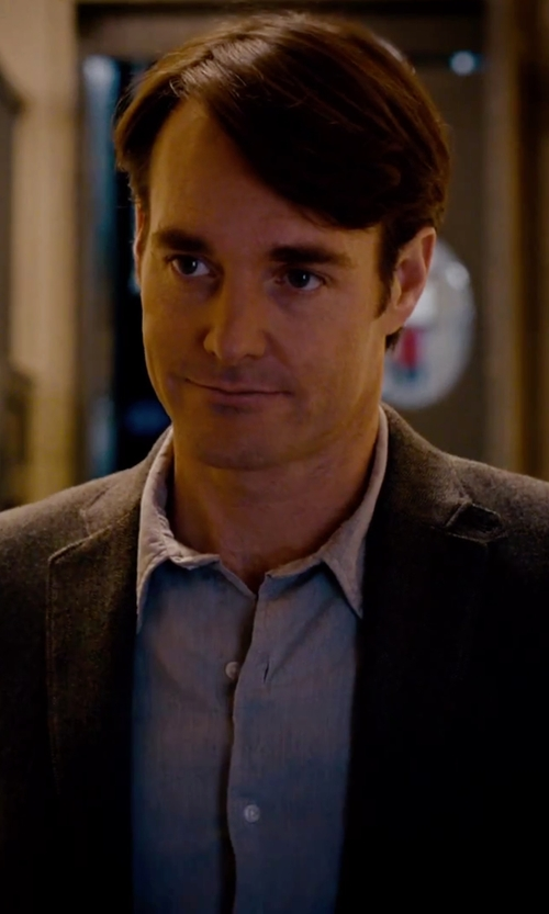 Will Forte with Eddie Bauer Wrinkle-Free Relaxed Fit Oxford Cloth Shirt in She's Funny That Way